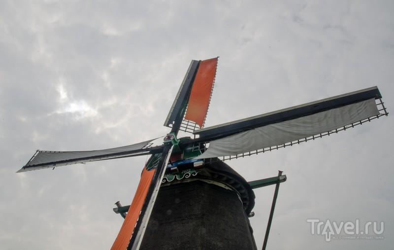 Туристическая деревушка Заансе Сханс и ее мельницы / Нидерланды
