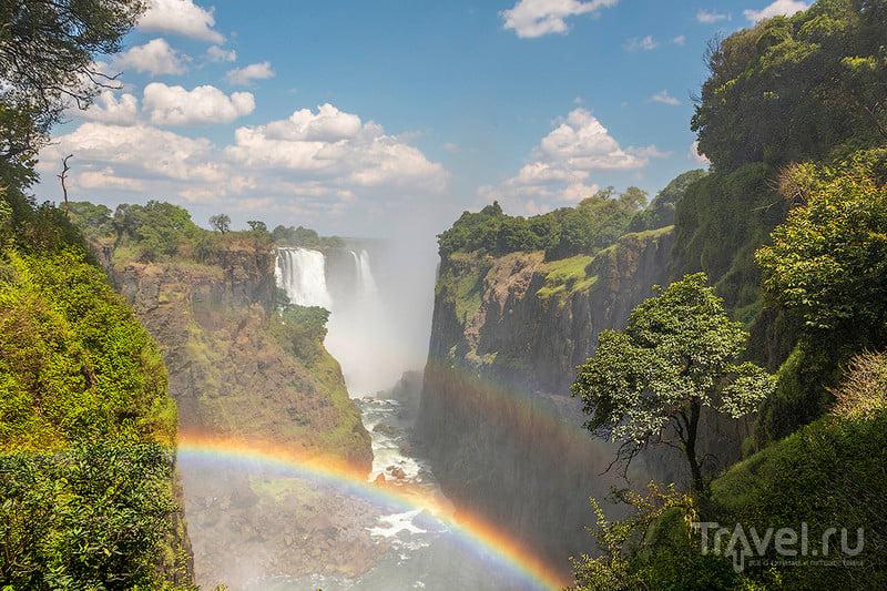 Водопад Виктория. Зимбабве. Декабрь 2014 / Фото из Зимбабве