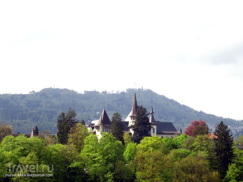 Берн: очарование старины в обрамлении цветов / Швейцария