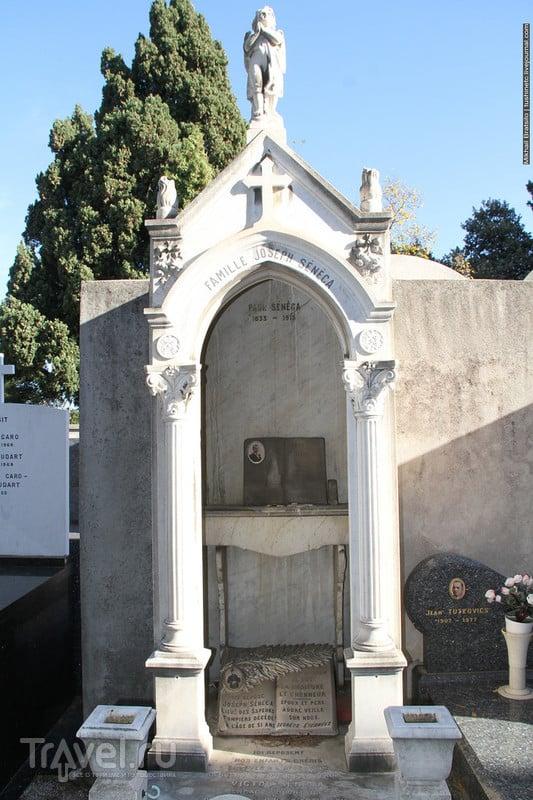 Протестантское кладбище Шато и еврейское кладбище в Ницце. Здесь похоронен Герцен / Франция