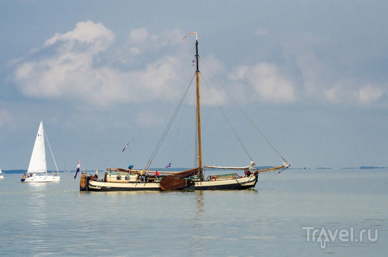 На кораблике из Медемблика в Энкхейзен / Фото из Нидерландов