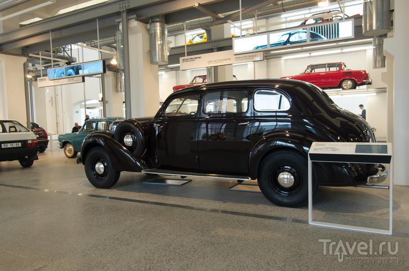 Музей Skoda Auto в городе Млада-Болеслав / Фото из Чехии