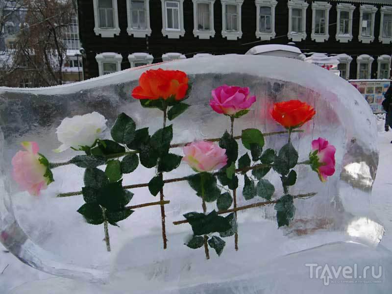 Зимняя сказка Томска / Россия