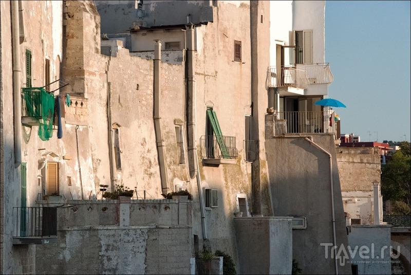Polignano a mare и Ostuni / Фото из Италии