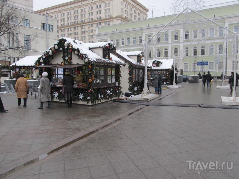 Москва в канун Нового Года / Россия