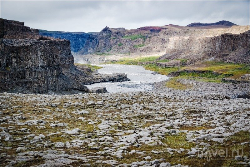 Исландия, водопад Деттифосс и район озера Миватн / Фото из Исландии