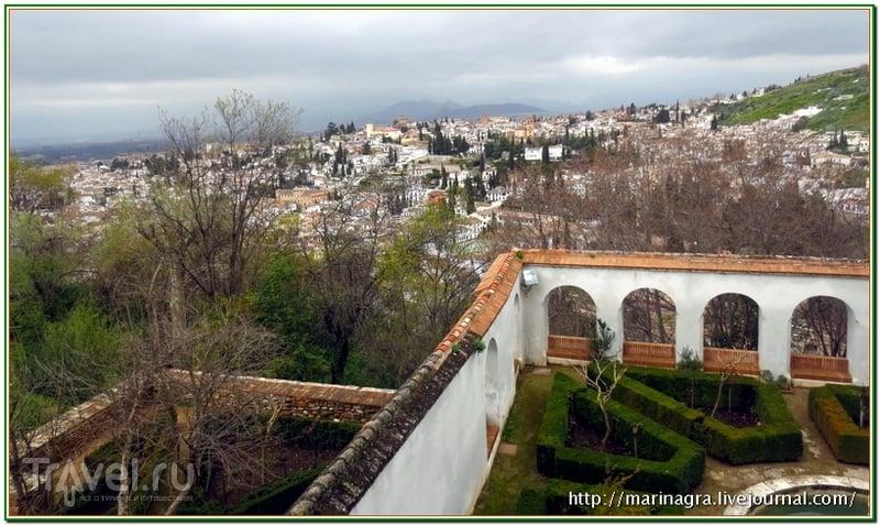 "Альгамбра - ""рубин в короне  Гранады"" / Испания"