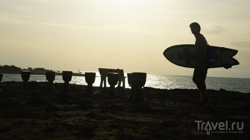 Рай в шалаше или остров ill de Ngor / Фото из Сенегала