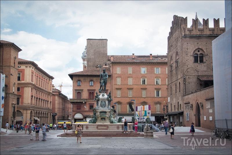Красно-оранжевая Болонья / Фото из Италии