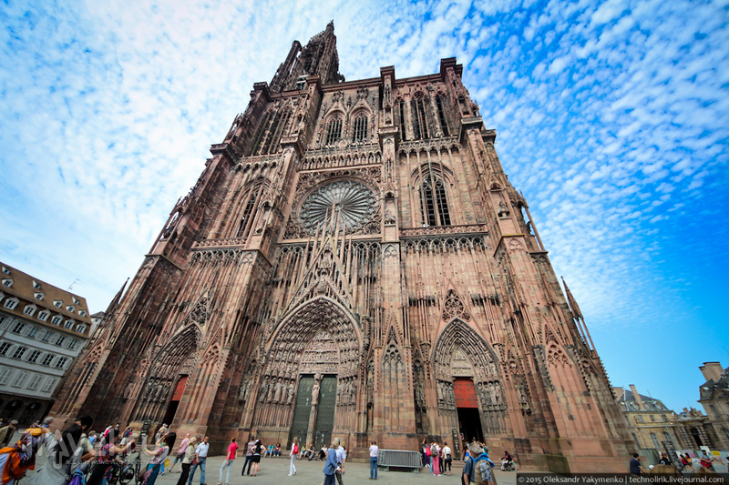 Страсбургский собор / Фото из Франции