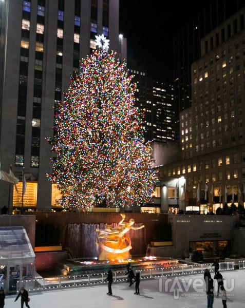 Новогодне-Рождественский Манхэттен / США