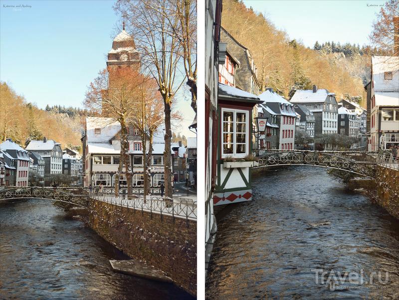 Рождественская сказка. Monschau. Германия, декабрь 2014 / Фото из Германии