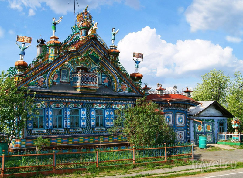 Дом кузнеца Кириллова в деревне Кунаре / Россия
