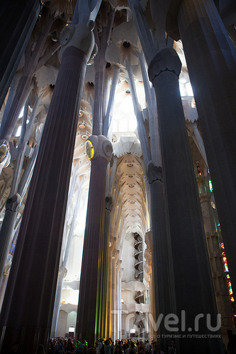 Саграда Фамилия или Храм Святого Семейства / Фото из Испании