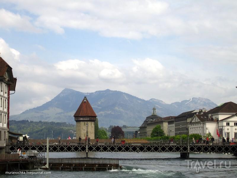 Люцерн - город разрисованных домов / Швейцария