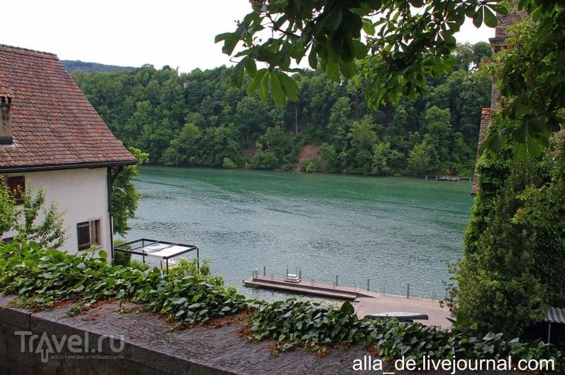 Eglisau на реке Rhein (Швейцария) / Фото из Швейцарии