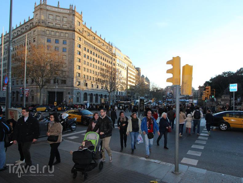 Секретная терраса в центре Барселоны / Испания