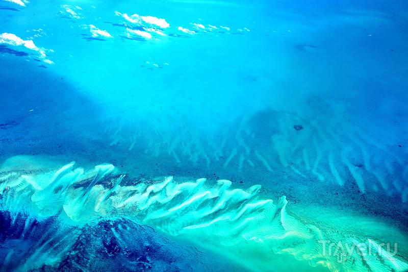 Багамы с высоты 10000 метров! / Багамские острова