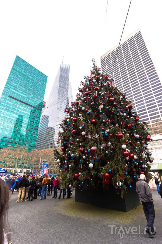 USA. New York. 26.12.2014 - 06.01.2015 / Фото из США