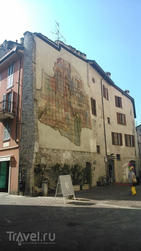 Настенная живопись в городе Комо: классика и современность / Италия