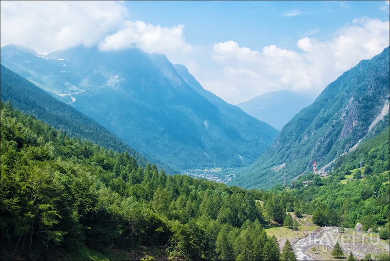 Водопад Серио / Фото из Италии