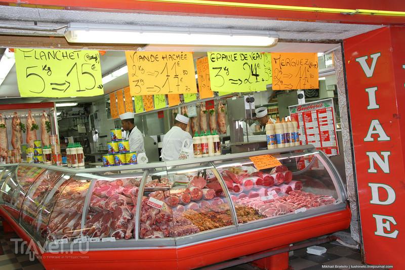 Немного о ценах на продукты в Ницце / Франция
