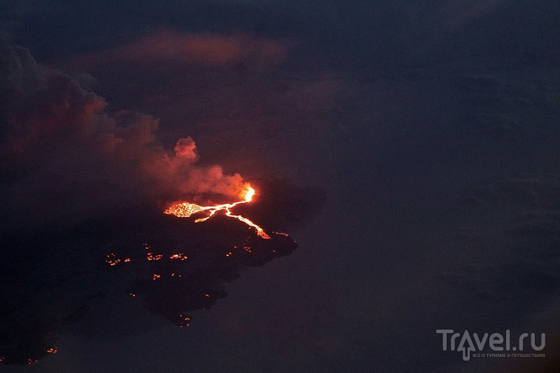 Извержение вулкана Бардарбунга / Исландия
