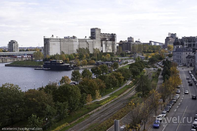 Монреаль. Набережная. Вид сверху / Фото из Канады
