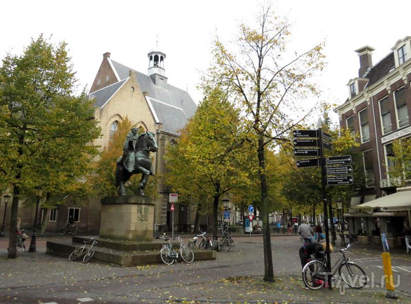 На площади в Утрехте, Нидерланды / Фото из Нидерландов