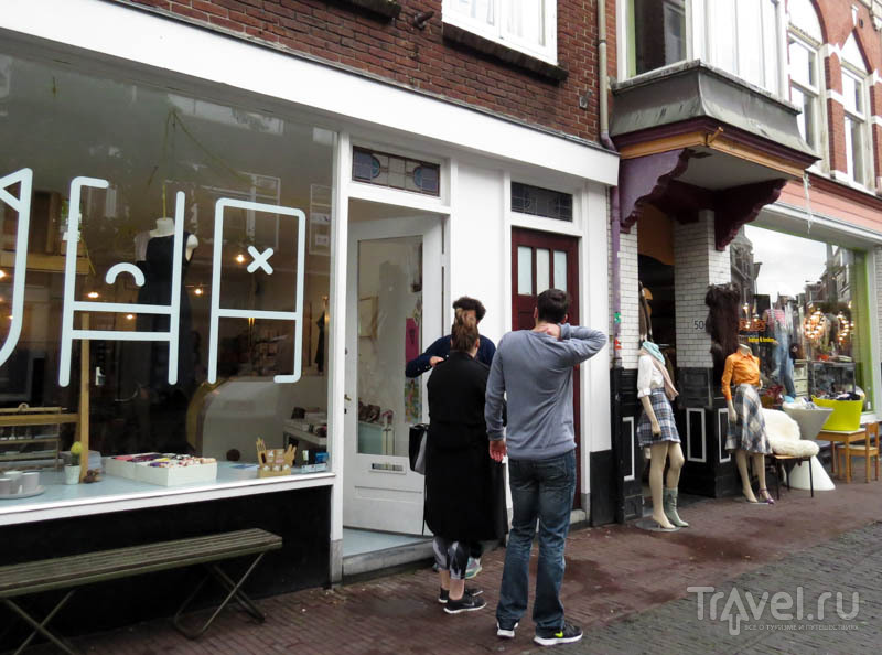 Дизайнерский магазин в Утрехте, Нидерланды / Фото из Нидерландов