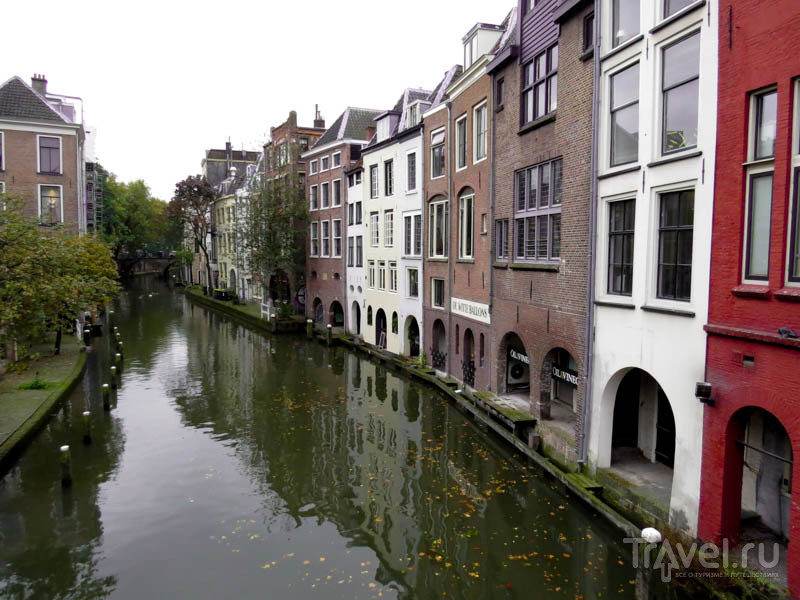 Канал в Утрехте, Нидерланды / Фото из Нидерландов