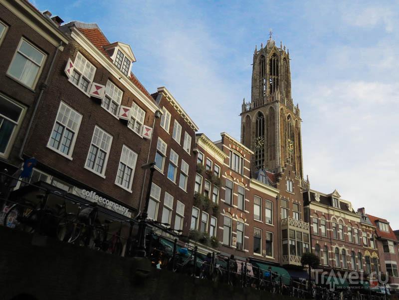 Колокольня собора Святого Мартина в Утрехте, Нидерланды / Фото из Нидерландов