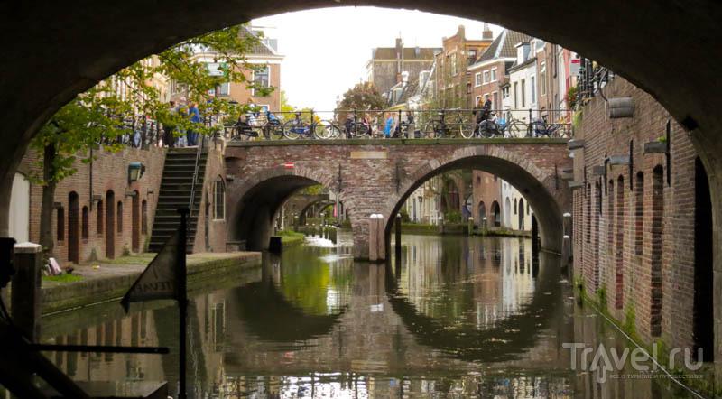 Мосты в Утрехте, Нидерланды / Фото из Нидерландов