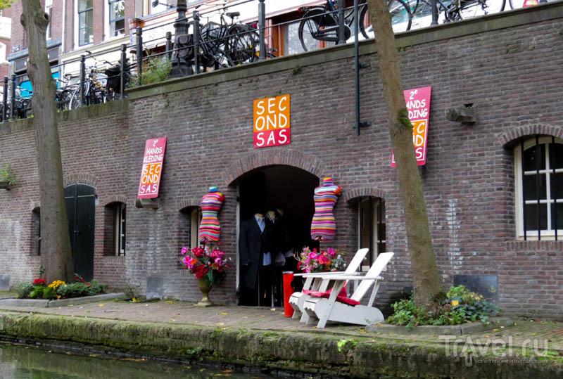 Магазин в бывшем складе в Утрехте, Нидерланды / Фото из Нидерландов