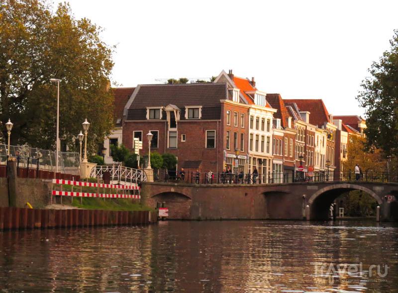 """""""Перекресток"""" каналов в Утрехте, Нидерланды / Фото из Нидерландов"""