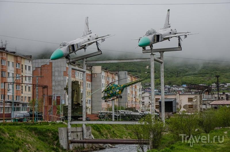 Истребители над Магаданкой летом 2014 года / Фото из России