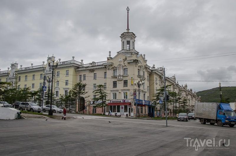 В центре Магадана / Фото из России