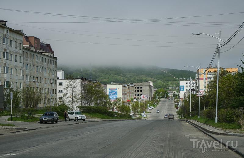Просторная улица Магадана / Фото из России
