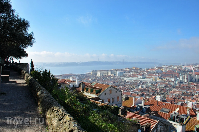Как выглядит Лиссабон сверху? / Фото из Португалии