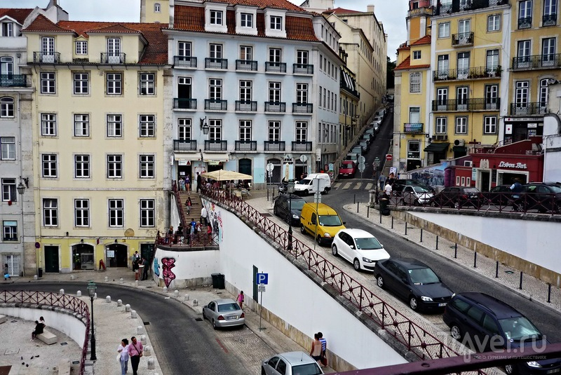 Лиссабон-город контрастов на семи холмах. Первая прогулка / Португалия