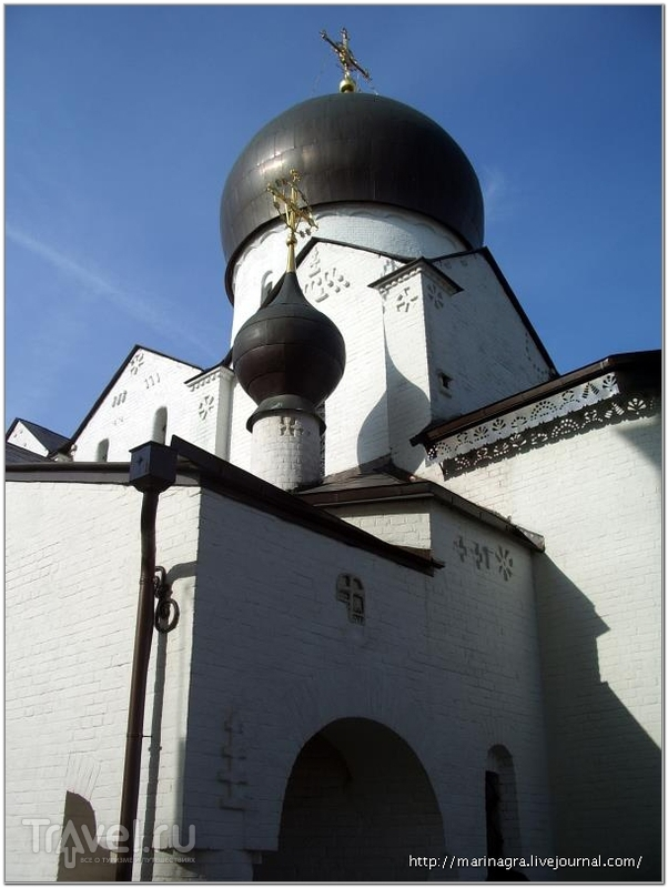 Марфо-Мариинская обитель милосердия  в Москве / Россия