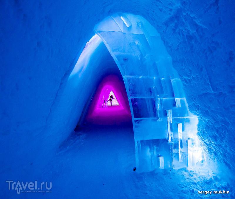 Снежные истории из Лапландии... Snow Village или Снежная деревня / Фото из Финляндии