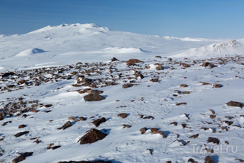 Зимние вулканы Камчатки / Фото из России
