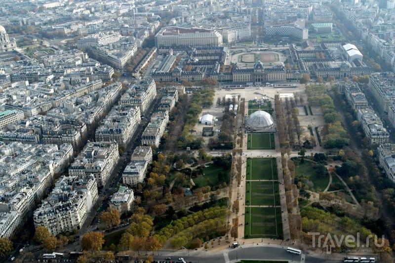 Виды с Эйфелевой башни / Франция
