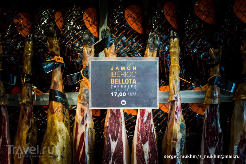 Мадрид. Mercado de San Miguel / Испания