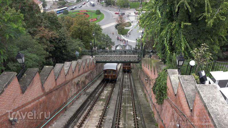 Будапештский фуникулёр - внизу и наверху / Фото из Венгрии