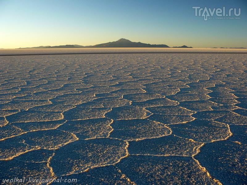 Un gran viaje a America del Sur. Боливия. Выход в космос. Закат на Салар де Уюни / Фото из Боливии