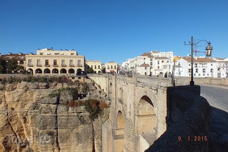 Испания в январе. Ронда. Новый мост / Испания