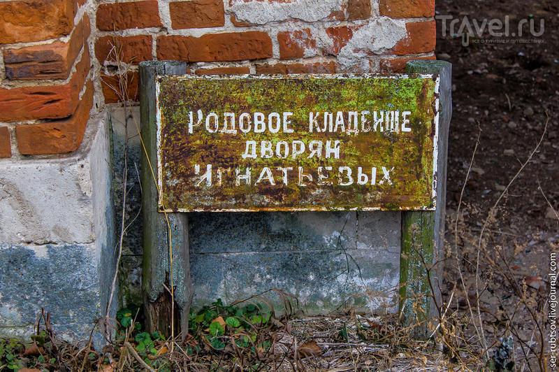 Родовое кладбище дворян Игнатьевых / Россия