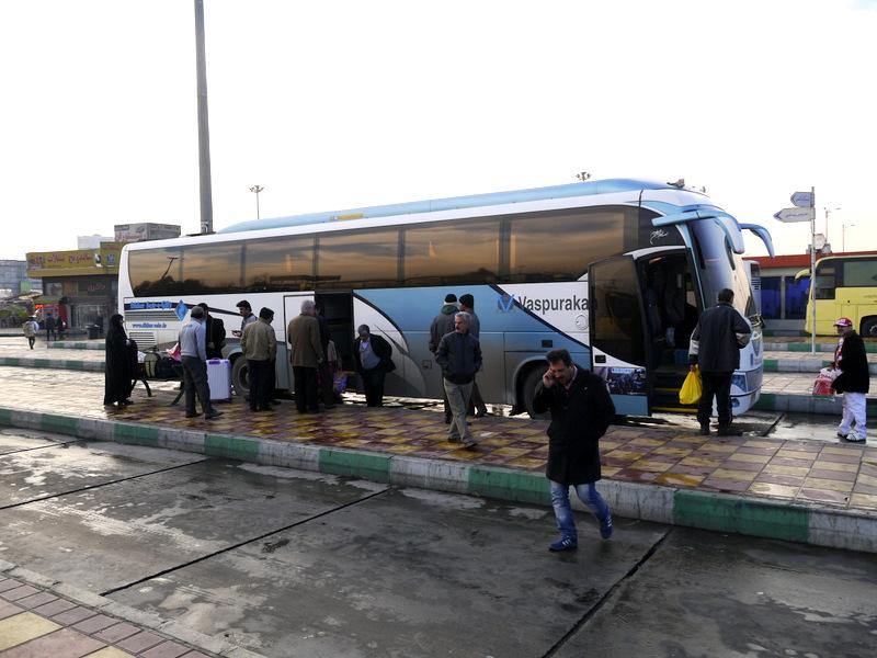 По дороге к Тегерану / Иран
